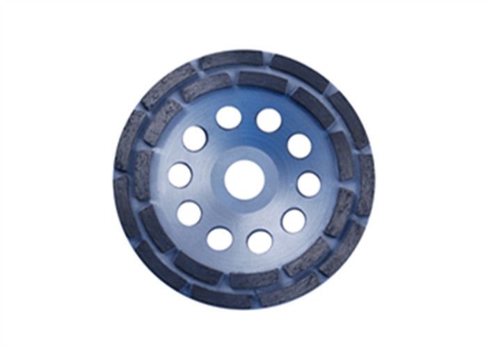 Double Row Diamond Cup Wheel For Masonry Material / Concrete Products